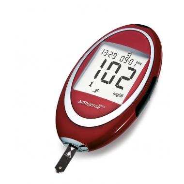 AutoSense testribad N50 3 karpi + TASUTA Autosense glükomeeter + TASUTA TRANSPORT
