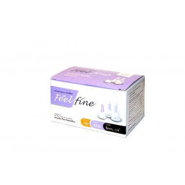 Feel Fine insuliininõelad 5mm 31G N100 Digiretsepti omanikele